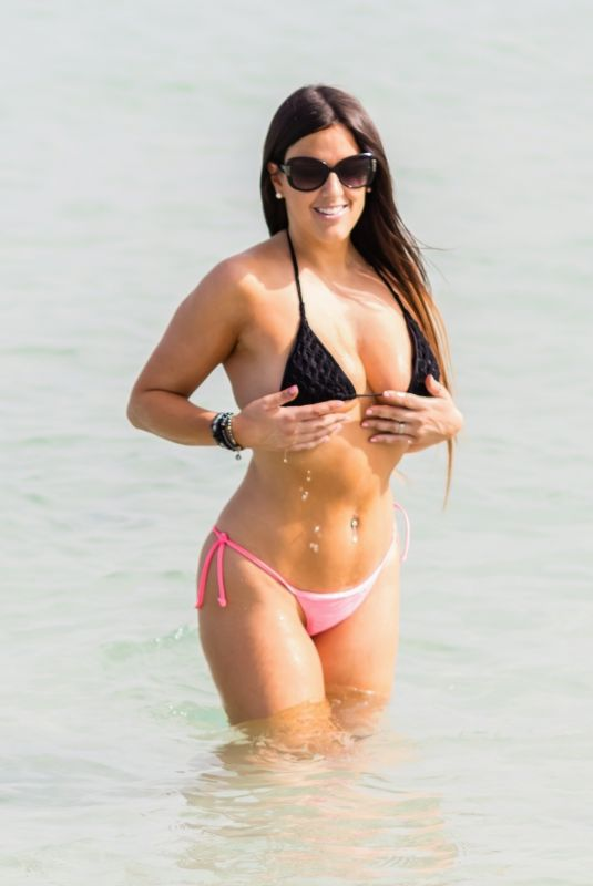 CLAUDIA ROMANI in Bikini in South Beach 03/03/2019