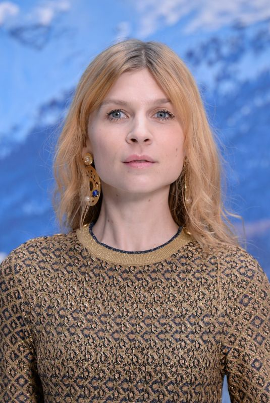 CLEMENCE POESY at Chanel Fashion Show at PFW in Paris 03/05/2019