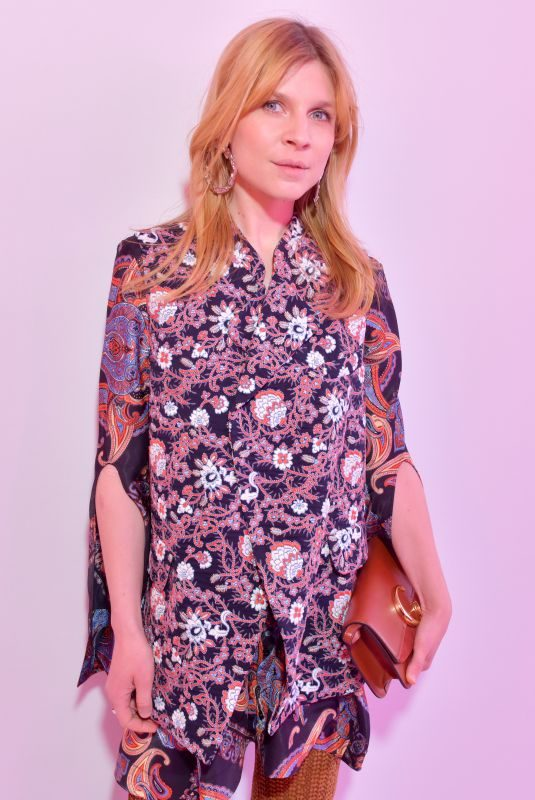 CLEMENCE POESY at Chloe Show at Paris Fashion Week 02/28/2019