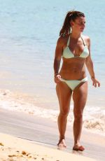COLEEN ROONEY in Bikini at a Beach in Barbados 03/23/2019