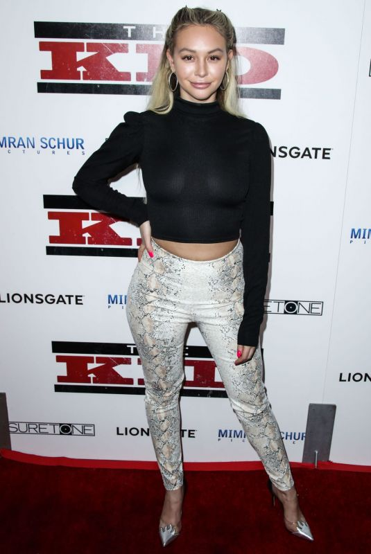 CORINNE OLYMPIOS at at The Kid Premiere in Hollywood 03/06/2019