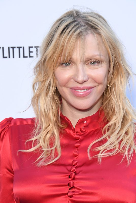 COURTNEY LOVE at Daily Front Row Fashion LA Awards 03/17/2019