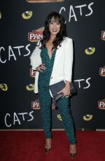 COURTNEY REED at Cats Opening Night Performance in Hollywood 02/27/2019