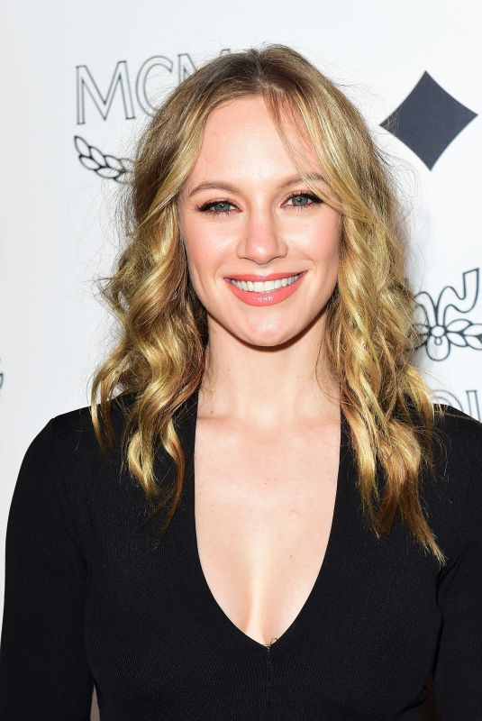 DANIELLE SAVRE at MCM Global Flagship Store Opening on Rodeo Drive in Beverly Hills 03/14/2019