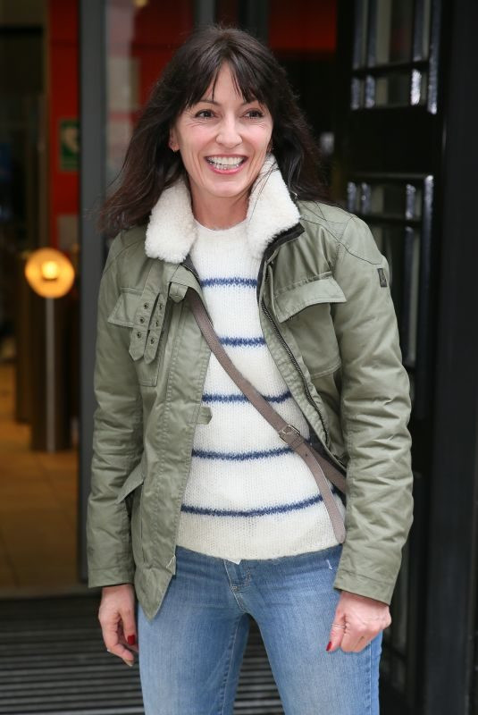 DAVINA MCCALL Leaves BBC Radio 2 in London 03/12/2019