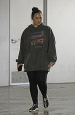 DEMI LOVATO Leaves a Gym in Los Angeles 02/28/2019