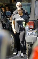 DEMI LOVATO Leaves a Gym in Los Angeles 03/26/2019