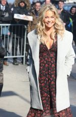 DENISE RICHARDS Arrives at Good Morning America in New York 03/05/2019
