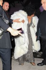 DIANA ROSS Arrives at New York Edition Hotel at Times Square 03/12/2019
