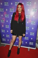 DIANNE BUSWELL at Rock of Ages Press Night in London 02/26/2019