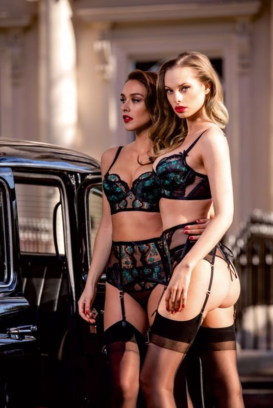 DIONI TABBERS and CHARLIE DUPONT for Honey Birdette's London Calling 2019 Campaign