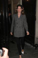 DOUTZEN KROES Arrives at Vogue Party in Paris 03/03/2019