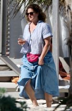 DREW BARRYMORE on Vacation in Tulum 03/17/2019