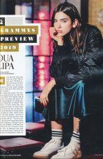 DUA LIPA in Rolling Stone Magazine, February 2019