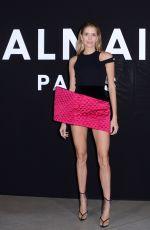ELENA PERMINOVA at Balmain Show at Paris Fashion Week 03/01/2019