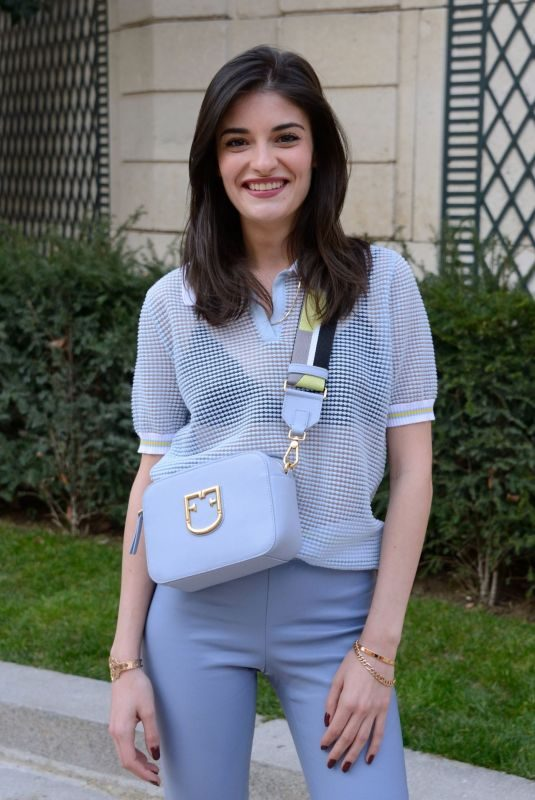 ELEONORE SARRAZIN Out at Paris Fashion Week 02/27/2019