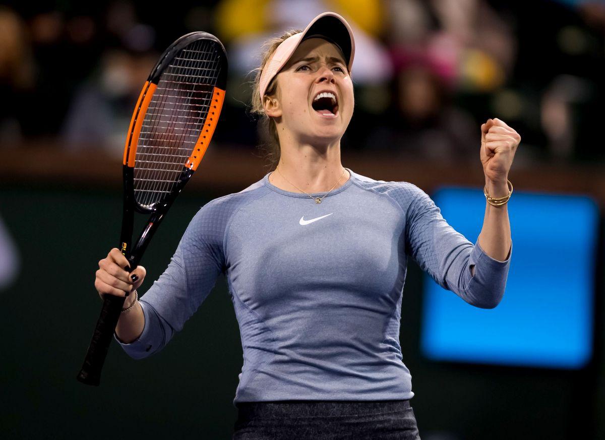 ELINA SVITOLINA at 2019 Indian Wells Masters 1000 03/09 ...