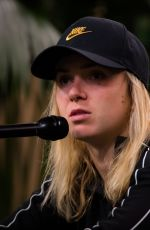 ELINA SVITOLINA at 2019 Indian Wells Masters 1000 Press Conference 03/15/2019