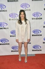 ELIZABETH HENSTRIDGE at Agents of S.H.I.E.L.D. Press Line at WonderCon in Anaheim 03/30/2019