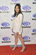 ELIZABETH HENSTRIDGE at Agents of S.H.I.E.L.D. Press Line at WonderCon in Anaheim 03/30/2019
