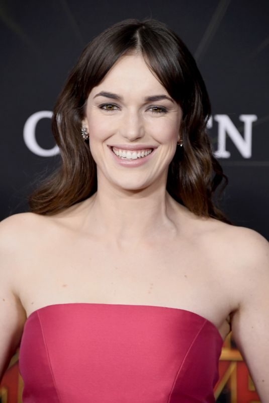 ELIZABETH HENSTRIDGE at Captain Marvel Premiere in Hollywood 03/04/2019