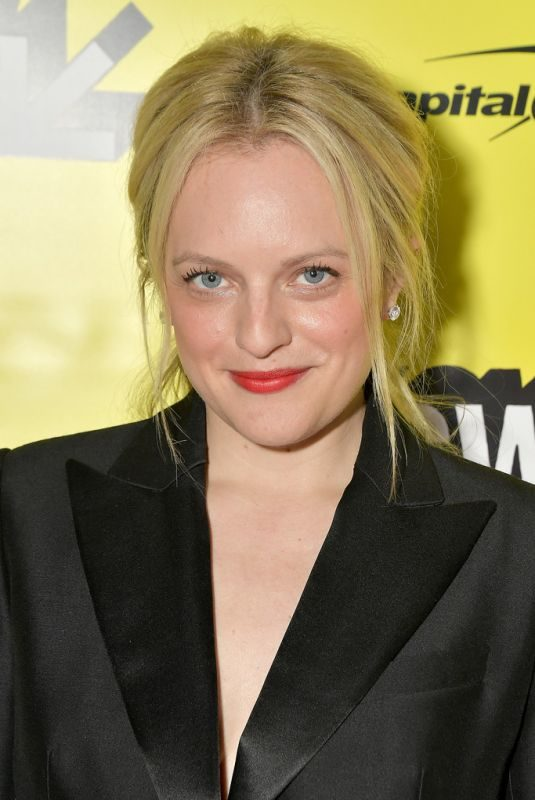 ELIZABETH MOSS at Her Smell Premiere at SXSW Film Festival in Austin 03/09/2019