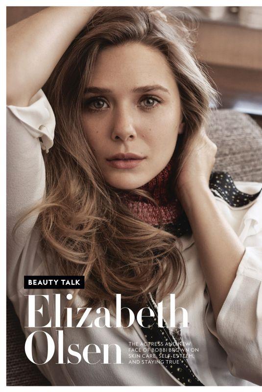 ELIZABETH OLSEN in Instyle Magazine, April 2019