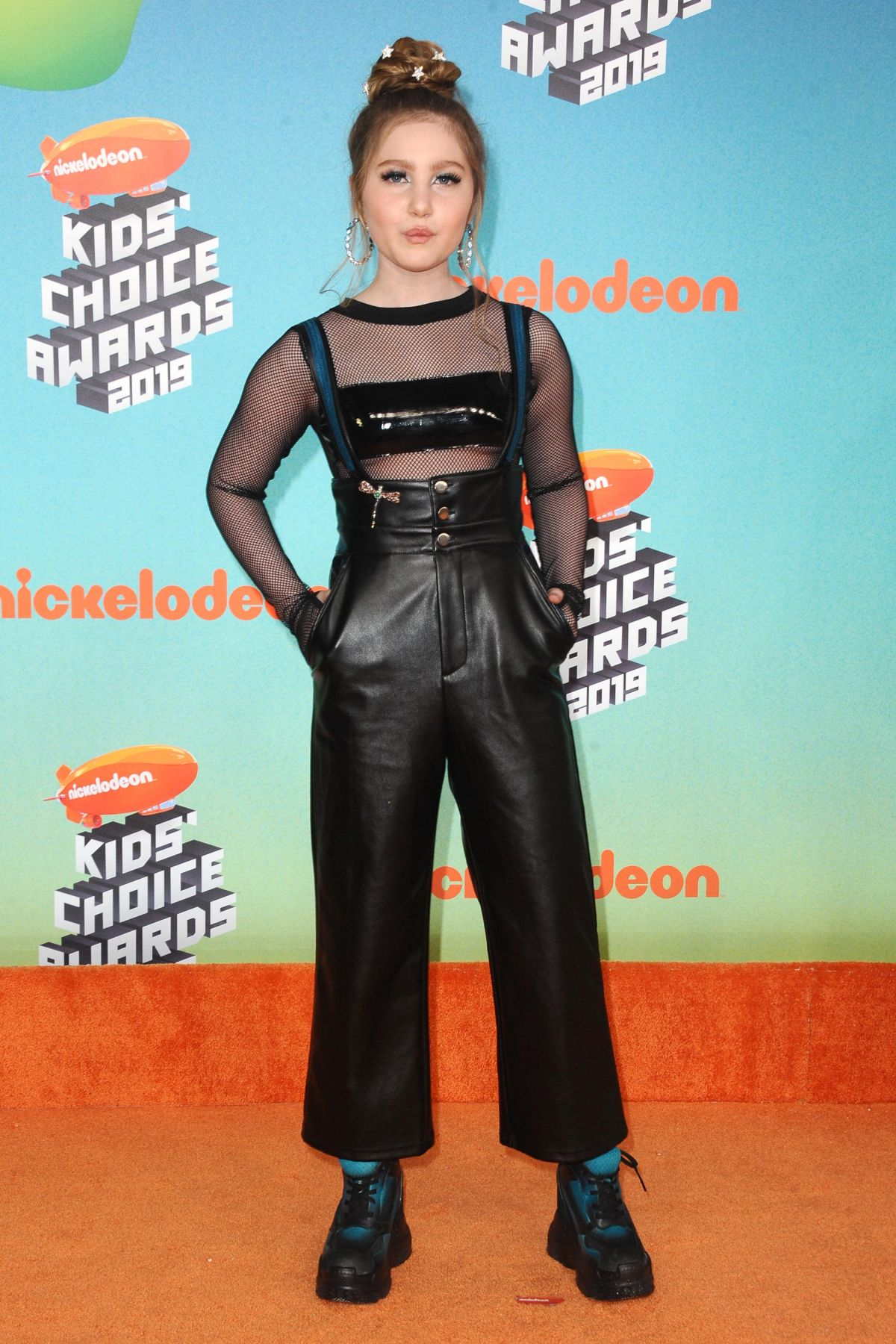 ELLA ANDERSON at Nickelodeon's Kids' Choice Awards 2019 in ...