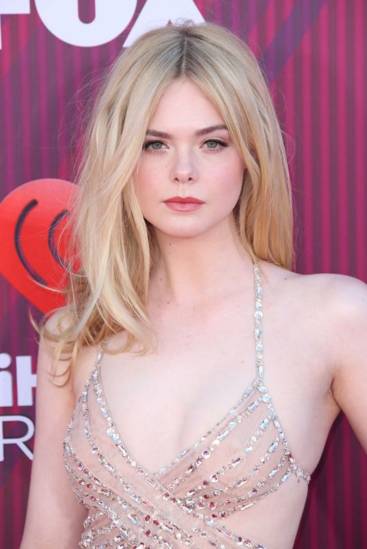 ELLE FANNING at Iheartradio Music Awards 2019 in Los Angeles 03/14/2019