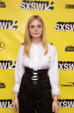 ELLE FANNING at Teen Spirit Premiere at SXSW Festival in Austin 03/12/2019