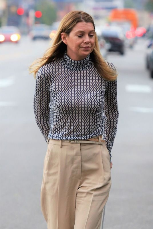 ELLEN POMPEO Out for Lunch in Los Angeles 03/05/2019