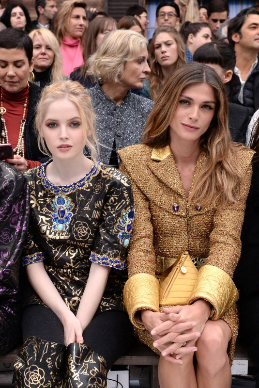 ELLIE BAMBER at Chanel Show at Paris Fashion Week 03/05/2019