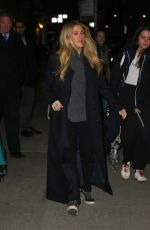 ELLIE GOULDING Arrives at Late Show with Stephen Colbert in New York 03/11/2019