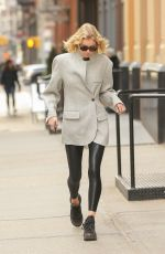ELSA HOSK Out and About in New York 03/14/2019