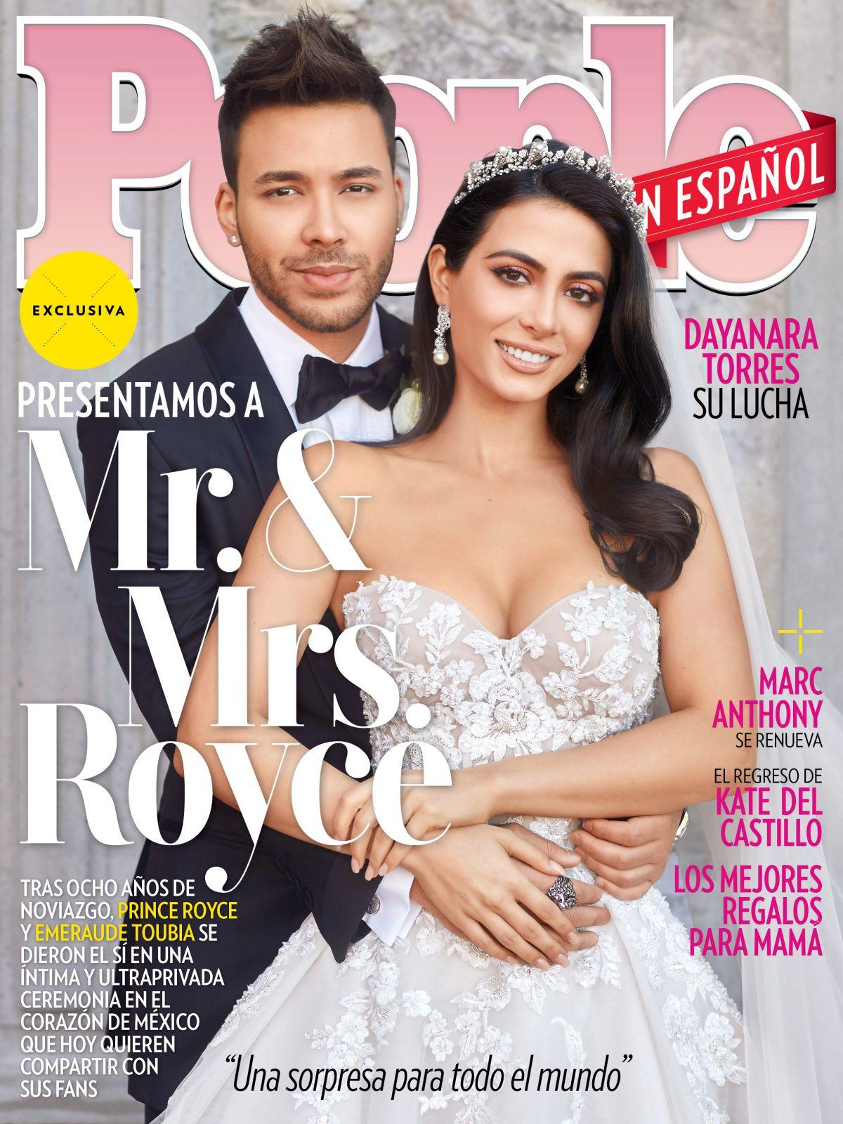 royce prince emeraude toubia espanol magazine cover shadowhunters married april secret marries star ceremony spain latest hawtcelebs eol canada earrings