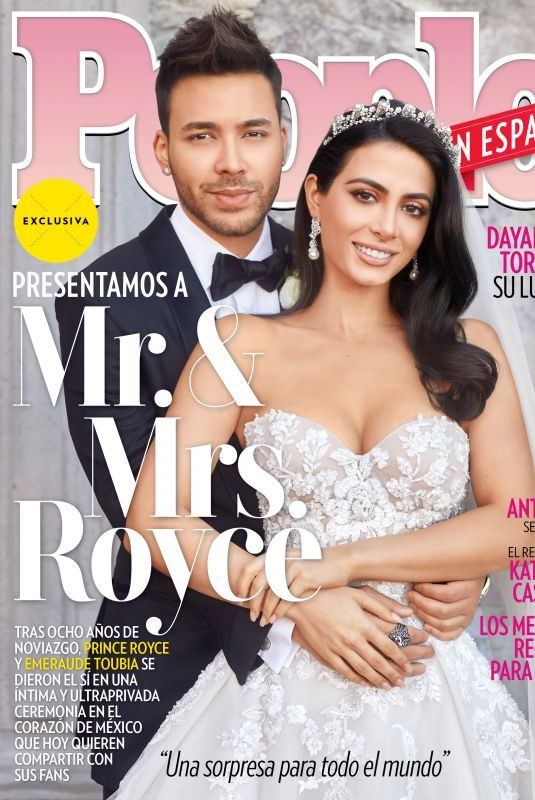 EMERAUDE TOUBIA and Prince Royce on the Cover of People en Espanol, April 2019