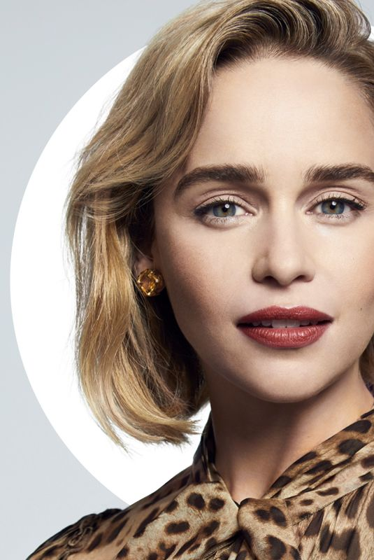 EMILIA CLARKE for Harper