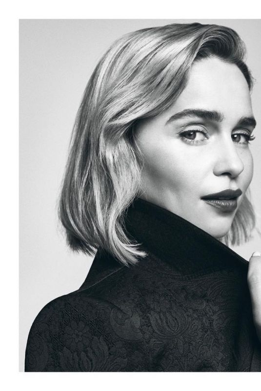 EMILIA CLARKE in Palace Costes 76 Magazine, March 2019
