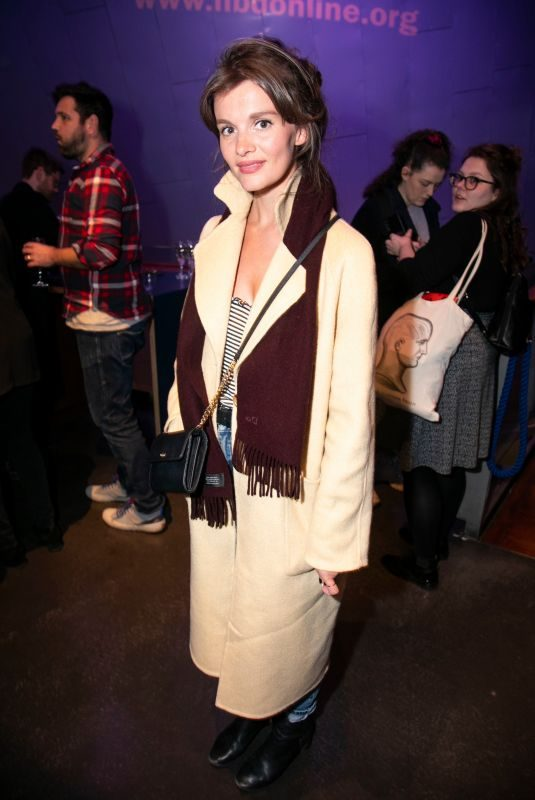 EMILY BARBER at The Phlebotomist Party in London 03/25/2019