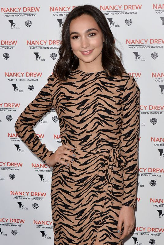 EMILY BEAR at Nancy Drew and the Hidden Staircase Premiere in Century City 03/10/2019