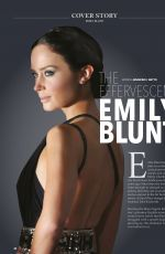 EMILY BLUNT in Health Today Magazine, Malaysia January 2019