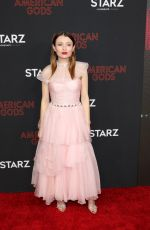 EMILY BROWNING at American Gods, Season 2 Premiere in Los Angeles 03/05/2019