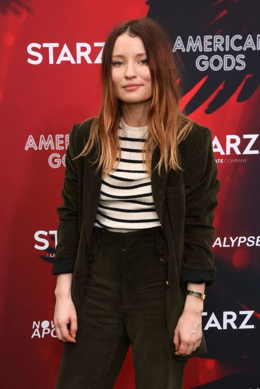 EMILY BROWNING at Live Viewing Party at #twitterhouse in Austin 03/10/2019