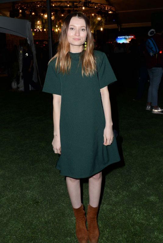 EMILY BROWNING at Saints & Sinners Party in Austin 03/09/2019