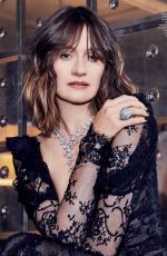 EMILY MORTIMER in Country & Town House Magazine, January 2019