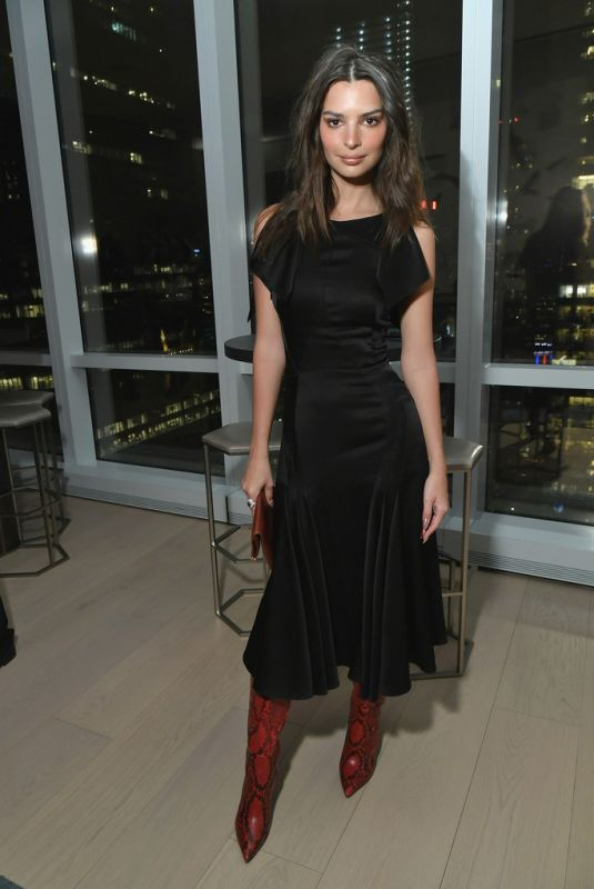 EMILY RATAJKOWSKI at Instyle Dinner to Celebrate April Issue in New York 03/13/2019