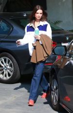 EMILY RATAJKOWSKI Leaves a Studio in Hollywood 03/04/2019