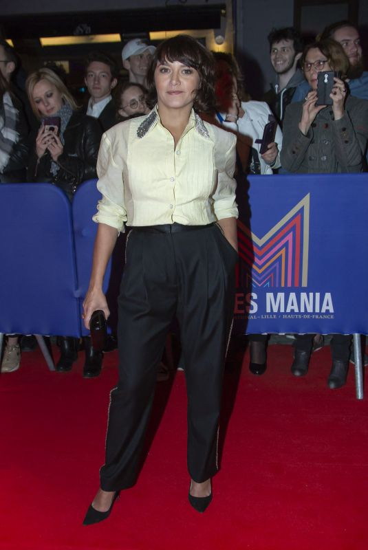 EMMA DE CAUNES at 2nd Series Mania Festival Opening Ceremony in Lille 03/23/2019