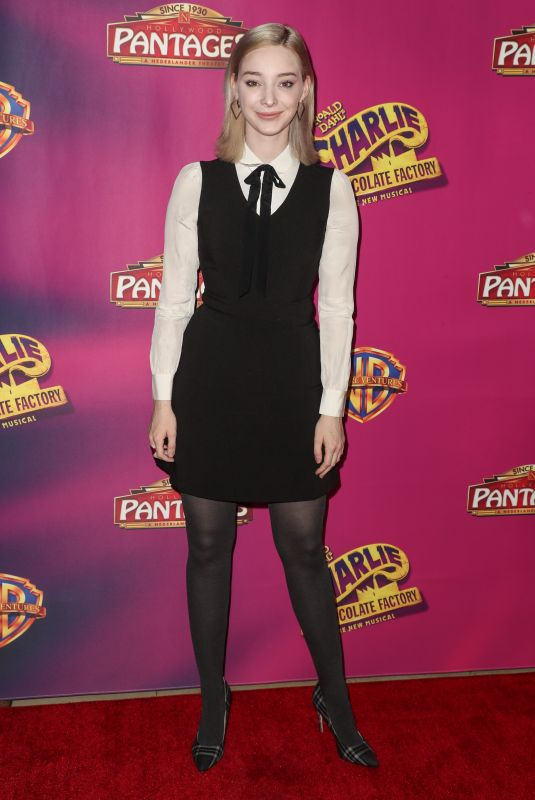 EMMA DUMONT at Charlie and the Chocolate Factory Opening Night in Hollywood 03/27/2019