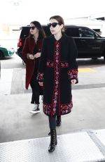 EMMA ROBERTS Arrives at LAX Airport in Los Angeles 03/03/2019
